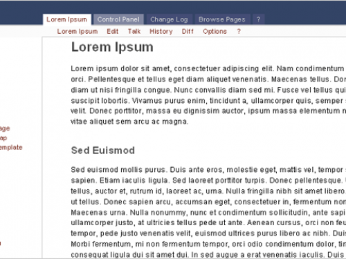 WikyBlog Screenshot